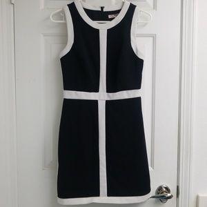 F21 Nice Quality Black & White trim cocktail dress